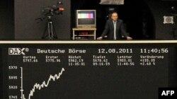 Bảng chỉ số giá chứng khoán trên thị trường Frankfurt của Ðức