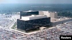 美國國家安全局位於馬里蘭州的總部鳥瞰圖