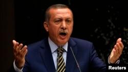 ນາຍົກລັດຖະມົນຕີເທີກີ ທ່ານ Recep Tayyip Erdogan
