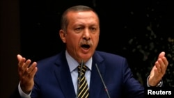 PM Turki Recep Tayyip Erdogan di Ankara, 25 Desember 2013 (Foto: dok).