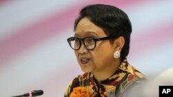 Ngoại trưởng Indonesia Retno Marsudi nói Indonesia sẽ đảm bảo rằng Tuyên bố về Cách Ứng xử của Các bên ở Biển Đông có thể được thi hành đầy đủ.