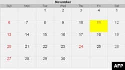 Ngày 11 tháng 11 năm 2011