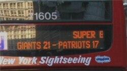 Giants Football Team Gets Ticker Tape Parade