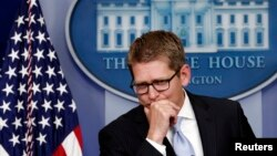 El vocero de la Casa Blanca, Jay Carney, aseguró que el presidente Obama no estaba enterado de la decisión del Departamento de Estado de espiar a periodistas de AP.