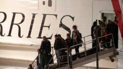 صدها شهروند خارجی روز جمعه با کشتی از طرابلس به مالتا وارد شدند
