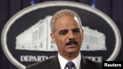U.S. Attorney General Eric Holder (file)