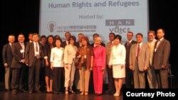 2010년 10월 캐나다 토론토에서 열린 제10회 북한인권난민문제국제회의. 북한인권시민연합 제공.