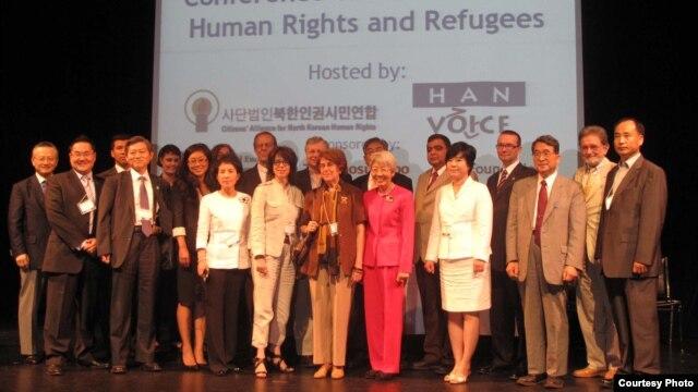 북한인권시민연합 주최로 캐나다에서 열렸던 제10회 북한인권난민문제국제회의. (자료사진)