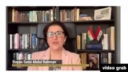 Bayan Samî Abdurahman, Nûnera KRG li Washington