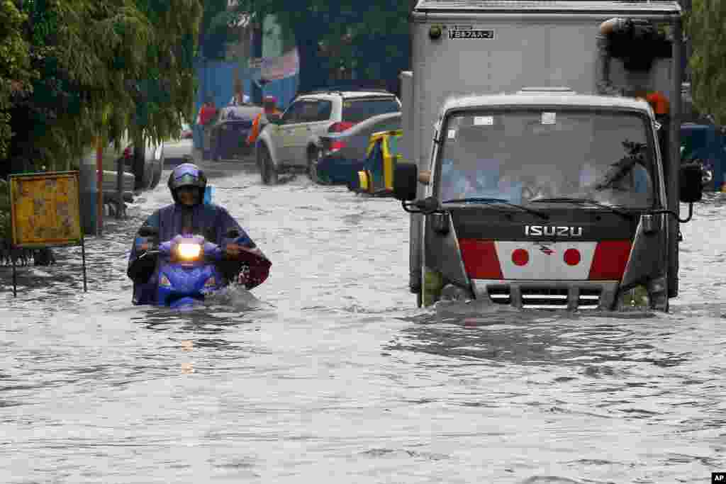 بارش بارانهای سیل آسا در فیلیپین