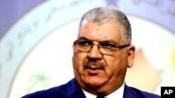 Ông Khaled al-Obeidi, một nhà lập pháp người Sunni đại diện cho thành phố Mosul ở miền bắc, được chọn làm tân bộ trưởng quốc phòng Iraq.