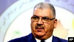 Sunitski zakonodavac Haled al-Obediti, novi ministar odbrane (arhivski snimak)