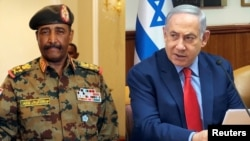 Al-Burhan and Netanyahu