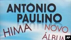 """Capa do CD """"Hima"""" terceiro trabalho de originais do cantor angolano António Paulino"""