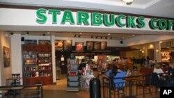 Starbucks, la célèbre chaîne américaine spécialisée dans le café gourmet
