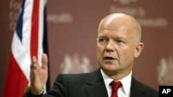 O υπουργός Εξωτερικών της Βρετανίας, Ουίλιαμ Χέιγκ