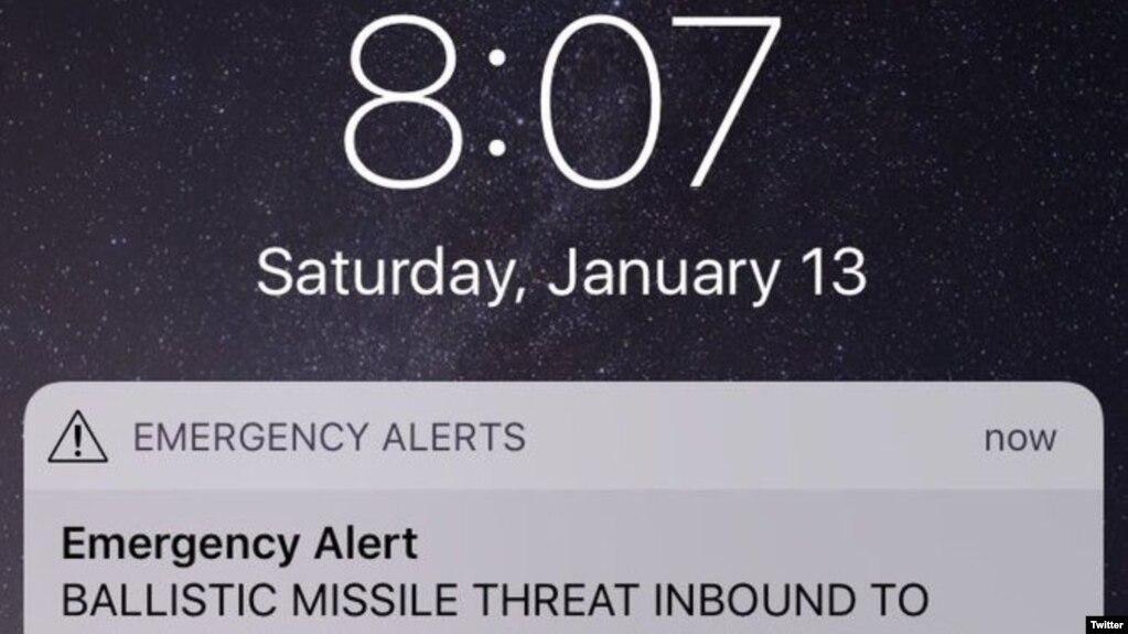Zyrtarët e Havajit: Alarmi për raketë ishte një gabim
