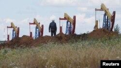 Видобуток на нафтовому родовищі Архангєльскоє, Росія, 2017 рік