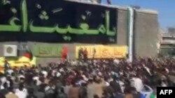Prizor sa jednih od mnogih demonstracija u Siriji