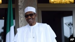Le président Muhammadu Buhari, 14 mai 2016.