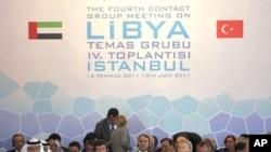 استنبول میں لیبیا پر ہونے والا اجلاس، شرکاٴ میں امریکی وزیر خارجہ ہلری کلنٹن شامل