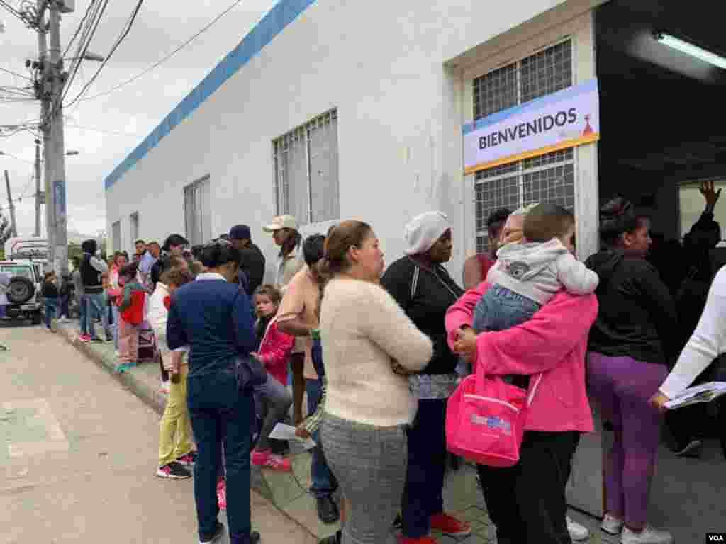 La jornada integral fue organizada por la Cruz Roja Colombiana, seccional Cundinamarca y Bogotá, y la Fundación Universitaria Juan N. Corpas.