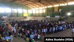 Assembleia de voto em Nampula. Moçambique realizou eleições autárquicas a 10 de Outubro 2018