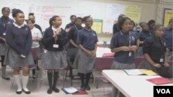 華盛頓地區的一所黑人女孩特殊學校