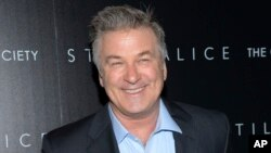 "FILE - actor Alec Baldwin attends a special screening of his film ""Still Alice"" in New York."