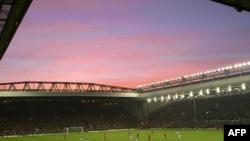 Sân vận động Anfield trong trận Liverpool-Portsmouth, ngày 13 tháng 10, 2006