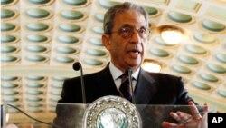عرب لیگ کے سیکرٹری جنرل امر موسیٰ