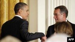Barak Obama i Džon Bejner u Beloj kući
