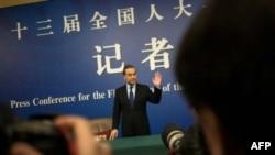 Le ministre chinois des Affaires étrangères, Wang Yi, à Pékin, le 8 mars 2018.