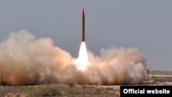 Запуск баллистической ракеты в Пакистане (архивное фото)