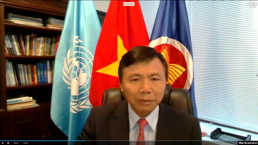 Việt Nam làm Chủ tịch Hội đồng Bảo an, lên án bạo động Myanmar nhưng không ủng hộ chế tài đơn phương
