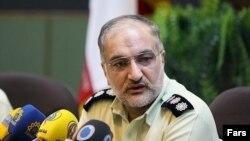 سرهنگ محمد مسعود زاهدیان رئیس پلیس امنیت اخلاقی ناجا