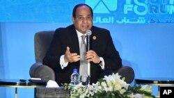 Presiden Mesir, Abdel Fattah al-Sisi