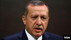 PM Turki Recep Tayyip Erdogan mengatakan tidak akan membiarkan terulangnya penggerebekan militer Israel terhadap kapal bantuan Turki.