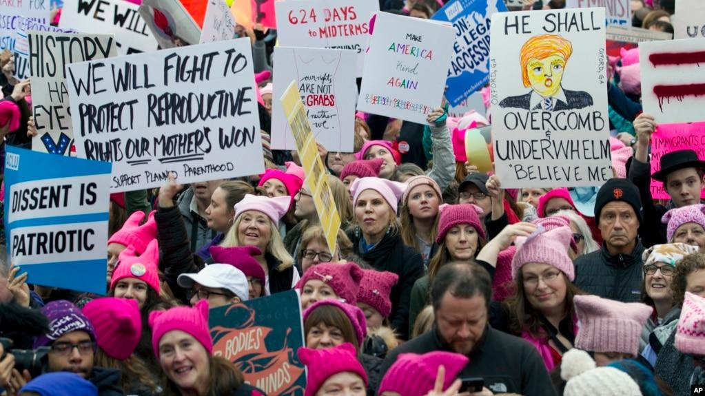 'Ngày không phụ nữ' được phát động bởi những người từng đứng lên tổ chức Cuộc tuần hành của Phụ nữ thu hút hàng triệu người xuống đường phản đối bất bình đẳng giới tính, phân biệt đối xử, và o ép phụ nữ hôm 21/1, một ngày sau khi tân Tổng thống Donald Trump tuyên thệ nhậm chức.