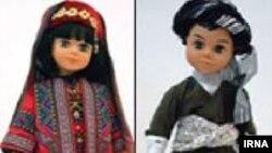 سارا جامه هایش بیش از اندازه «فاخر» است، و بیشتر تزئینی است تا عروسکی برای بازی و تخیلات کودکانه