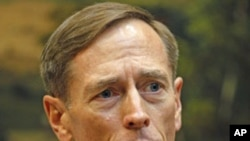 David Petraeus speaks to the press after being sworn-in as the new CIA Director, in the Roosevelt Room of the White House in Washington, D.C., September 6, 2011. (file photo)