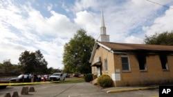 Hopewell Baptist Church, Greenville, Mississippi, le 2 novembre 2016.
