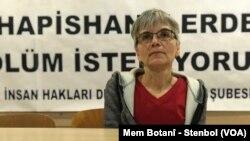 Hatîce Onaran, endama Komîsyona Zindanan ya Komala Mafên Mirovan (ÎHD)ê.