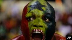 Un supporter ghanéen
