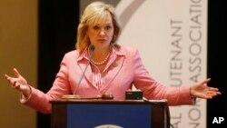 Республиканский губернатор Оклахомы Мэри Феллин