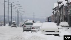 Sneg u Nišu
