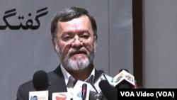 """محمدسرور دانش امروز در مراسم گرامیداشت از """"هفتۀ شهید"""" سخن میگفت"""