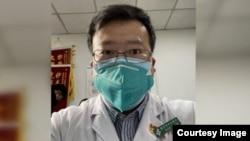 """武汉新型冠状病毒疫情的""""吹哨人""""李文亮医生"""