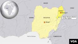 نائجیریا کی ریاست بورنو 'بوکو حرام' کے حملوں سے سب سے زیادہ متاثر ہورہی ہے۔