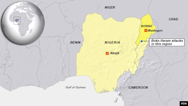Boko Haram attacks, State of Borno, Nigeria, May 30, 2014